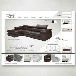 Home Italia Website